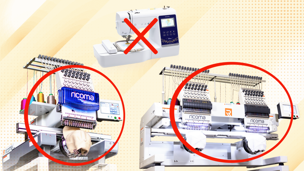 Multi-needle machine vs single-needle