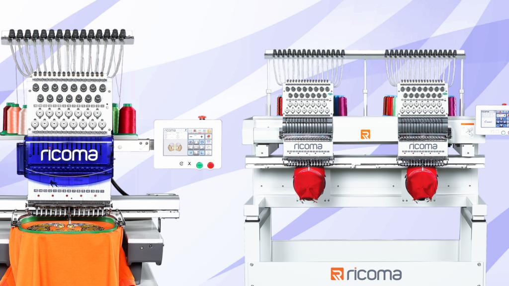 Ricoma embroidery machines