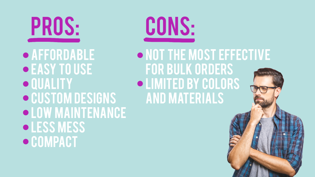 Sublimation Pros and Cons