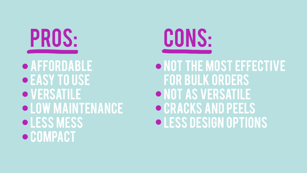 htv pros and cons