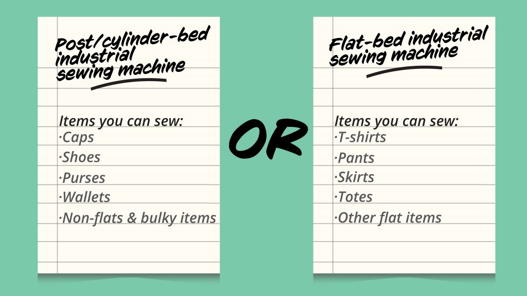 Items you can sew