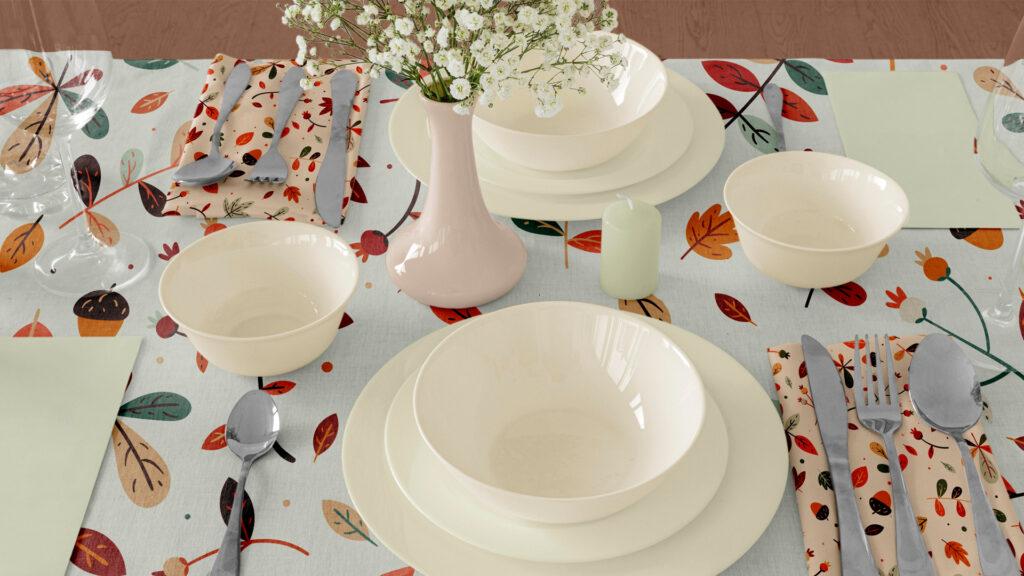 Table Cloths and Napkins