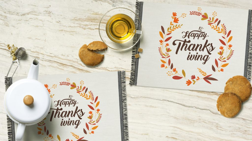 Decorative Holiday Placemats
