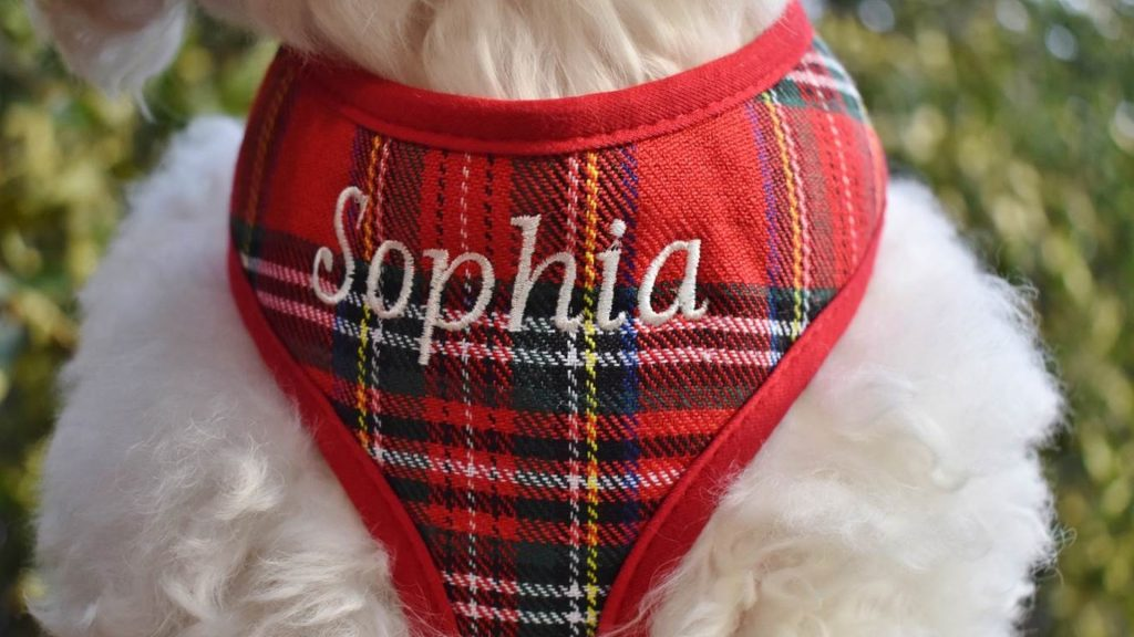 Embroidered Pet clothes